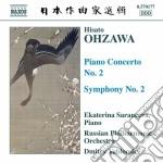 Ohzawa Hisato - Concerto Per Pianoforte N.2, Sinfonia N.2 cd musicale di Hisato Ohzawa