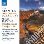Stamitz Carl - Quartetti Per Oboe Op.8 N.1,3 E 4 cd musicale di Carl Stamitz