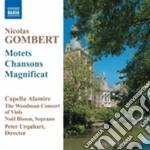 Nicolas Gombert - Motets And Chansons cd musicale di Nicolas Gombert