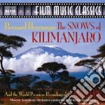 Bernard Hermann - The Snows Of Kilimanjaro / 5 Fingers cd musicale di Bernard Hermann