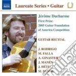 Guitar recital: jerome ducharme cd musicale