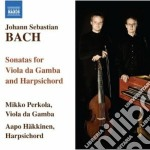 Bach J.S. - Sonate Per Viola Da Gamba Bwv 1027-1029 cd musicale di Johann Sebastian Bach