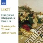 Liszt Franz - Rapsodie Ungheresi, S359/r441 cd musicale di Franz Liszt