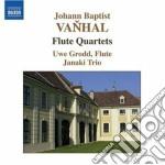 Quartetti con flauto op.7 (nn.2, 3 e 6) cd musicale di Vanhal johann baptis