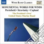 Monumental works for winds cd musicale