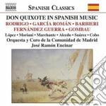 Don quixote nella musica spagnola cd musicale