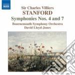 Stanford Charles Villiers - Sinfonia N.4, N.7 cd musicale di Stanford charles vil