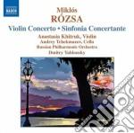 Rozsa Miklos - Concerto Per Violino, Sinfonia Concertante cd musicale di Miklos Rozsa