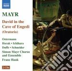 David in spelunca engaddi cd musicale di Simon Mayr
