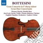 Bottesini Giovanni - Concerto N.1, Gran Duo Concertante, Duo Per Clarinetto E Contrabbasso cd musicale di Giovanni Bottesini