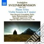 Sveinbjorn Sveinbjornsson - Piano Trios, Violin Sonata cd musicale di Sveinbjor Sveinbjorn