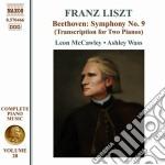 Opere per pianoforte (integrale) vol.28 cd musicale di Franz Liszt