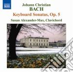 Bach J.S. - Sonate Op.5 cd musicale di Johann Sebastian Bach