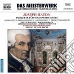 Haydn Franz Joseph - Concerto Per Corno N.1 Hob.viid:3, Concerto Per Clavicembalo Hob.xviii:2, ... cd musicale di Haydn franz joseph