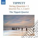 Michael Tippett - Quartetti Per Archi, Vol.1: Nn.1, 2, 4 cd musicale di Michael Tippett