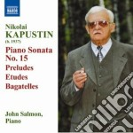 Kapustin Nikolai - Sonata Per Pianoforte N.15