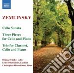 Zemlinsky Alexander Von - Trio Per Clarinetto, Violoncello E Pianoforte Op.3, 3 Pezzi cd musicale di Alexander Zemlinsky