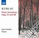 Kuhlau Friedrich - Sonatine Per Pianoforte Opp.55, 88 cd musicale di Friedrich Kuhlau