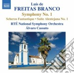 Branco Luis De Freitas - Opere Per Orchestra, Vol.1 cd musicale di Branco luis de freit