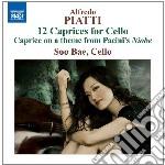 Piatti Carlo Alfredo - 12 Capricci Per Violoncello Solo Op.25 cd musicale di Piatti carlo alfredo