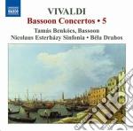 Concerti per fagotto (integrale), vol.5 cd musicale di Antonio Vivaldi