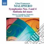 Sinfonie (integrale), vol.1 cd musicale di Malipiero gian franc