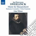Sweelinck Jan Pieterszoon - Harpsichord Works, Fantasia Chromatica,echo Fantasia, Toccata, Variations cd musicale di SWEELINCK JAN PIETER