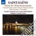 Saint-Saens - Musica Da Camera Per Fiati cd musicale di Camille Saint-saËns