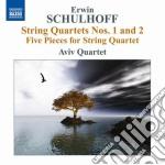 Schulhoff Erwin - Quartetti Per Archi, 5 Pezzi Per Quartetto cd musicale di Erwin Schulhoff