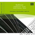 Beethoven Ludwig Van - Concerto Per Violino Op.61, Sestetto Op.81b cd musicale di Beethoven ludwig van