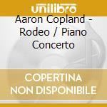 Rodeo, four dance episodes, concerto per cd musicale di Aaron Copland