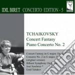 Tchaikovsky - Concert Fantasia / Piano Concerto N.2 - Idil Biret cd musicale di Ciaikovski pyotr il'