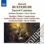 Buxtehude Dietrich - Cantate Sacre cd musicale di Dietrich Buxtehude