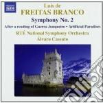 Branco Luis De Freitas - Opere Per Orchestra, Vol.2 cd musicale di Branco luis de freit