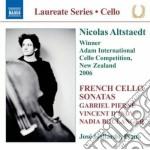 Nadia Boulanger - Tre Pezzi Per Violoncello E Pianoforte cd musicale di Nadia Boulanger