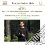 Schubert Franz - Fantasia Per Violino E Pianoforte D 934 cd musicale di Frank Huang
