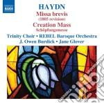 Missa brevis, schöpfungsmesse (messa del cd musicale di Haydn franz joseph