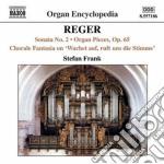 Opere per organo vol. 5 cd musicale di Max Reger
