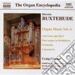 Opere per organo (integrale) vol.4 cd musicale di Dietrich Buxtehude