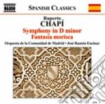 Chapi' Ruperto - Sinfonia In Re Minore, Fantasia Morisca cd musicale di Ruperto Chapi'