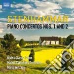 Stenhammar Wilhelm - Concerto Per Pianoforte N.1 Op.1, N.2 Op.23 cd musicale di Wilhelm Stenhammar