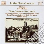 Pittfield Thomas - Concerto Per Pianoforte N.1, N.2  Studies On An English Dance-tune, ... cd musicale di Thomas Pittfield