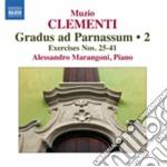 Clementi Muzio - Gradus Ad Parnassum, Vol.2: Esercizi Nn.25-41 cd musicale di Muzio Clementi
