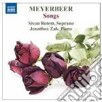 Giacomo Meyerbeer - Liriche Da Camera cd musicale di Giacomo Meyerbeer