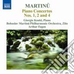 Martinu Bohuslav - Concerto Per Pianoforte N.1 H 349, N.2 H237, N.4 H 358