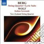 Berg Alban - Quartetto Per Archi Op.3, Suite Lirica cd musicale di Alban Berg