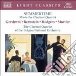 Summertime - Musica Per Quartetto Di Clarinetti cd musicale