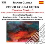 Halffter Rodolfo - Musica Da Camera, Vol.3 cd musicale di Rodolfo Halffter