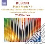 Opere per pianoforte (integrale), vol.7 cd musicale di Ferruccio Busoni