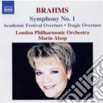 Brahms Johannes - Sinfonia N.1 Op.68, Ouverture Tragica Op.68, Ouverture Accademica Op.80 cd musicale di Johannes Brahms